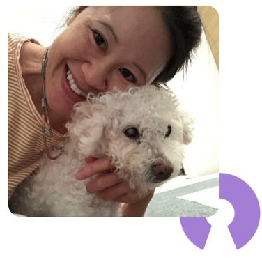 Dr. Wong and dog